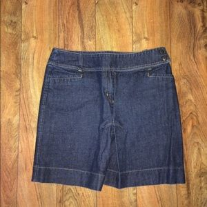 New York & Company denim skirt, like new